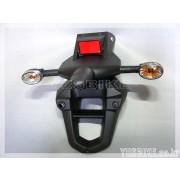 코멧(GT125R,GT250R,GT650R)(인젝션) 휀다(뒤,윙커일체형)