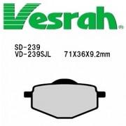 [Vesrah]베스라 SD239 - YAMAHA YSR50,TDR50,SEROW,YBR125,XT600 기타 그 외 기종 -오토바이 브레이크 패드