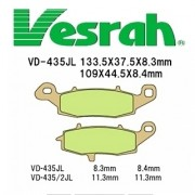 Vesrah]베스라 VD435JL/SJL - HONDA CB1300F,KAWASAKI ZX-7RR,BUELL M2,X1 LIGHTNING 기타 그 외 기종 -오토바이 브레이크 패드