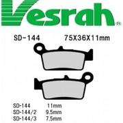 [Vesrah]베스라 SD144 - HONDA CR80R,XR250,XR400,SUZUKI DR-Z400,KAWASAKI KLK250 기타 그 외 기종 -오토바이 브레이크 패드