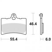 SBS 앞브레이크 패드 734HF:CBR600RR 03-04,CBR600F4,CB600(호넷),CBR900RR,VTR1000SP-1,SP-2,CB1300R