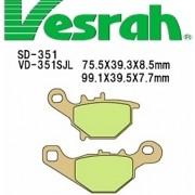 [Vesrah]베스라 VD351JL/SJL -SUZUKI ZZ,STREET MAGIC,ADDRESS V100/110,ADDRESS V125 기타 그 외 기종 -오토바이 브레이크 패드