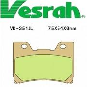 [Vesrah]베스라 VD251JL/SJL - YAMAHA FZR600(91-93),YZF600(94-97),VMAX(93-07) 기타 그 외 기종 -오토바이 브레이크 패드