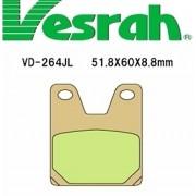 [Vesrah]베스라 VD264JL/SJL - YAMAHA XJR400(01-07), YZF1000(08), YZF-R1(98-01) 기타 그 외 기종 -오토바이 브레이크 패드