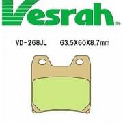 [Vesrah]베스라 VD268JL/SJL - YAMAHA FZ1(04),FZS100(01-05),XJR1300(01-11) 기타 그 외 기종 -오토바이 브레이크 패드