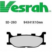 [Vesrah]베스라 SD260 -오토바이 브레이크 패드,혼다,야마하,스즈끼,가와사끼,할리,BMW