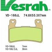 [Vesrah]베스라 VD166JL/SJL - HONDA HORNET600 내수용,CBR600F,CBR900RR,CB1100 기타 그 외 기종 -오토바이 브레이크 패드