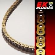 [EK] 530 ZVX 체인 GOLD 124 링크 (1300cc급,내구성지수:1500) - 오토바이 체인