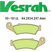 [Vesrah]베스라 VD161JL/SJL - HONDA CR125,XR250,XR400R,AFRICATWIN,SUZUKI DR250,DR-Z400 기타 그 외 기종 -오토바이 브레이크 패드
