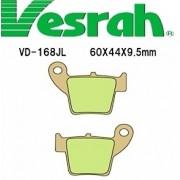 [Vesrah]베스라 VD168JL/SJL - HONDA CR125, CR125R, CRE125R, CRF150R, CR250R, XR400 기타 그 외 기종 -오토바이 브레이크 패드