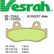 [Vesrah]베스라 VD134JL/SJL - HONDA CR125,NSR125F,FTR223,CR250R,XL500R 기타 그 외 기종 -오토바이 브레이크 패드