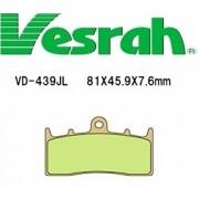 [Vesrah]베스라 VD439JL/SJL- KAWASAKI ZRX,ZRX-II, BMW R850R, R110GS,R1150R, K1200LT, R1200 기타 그 외 기종 -오토바이 브레이크 패드