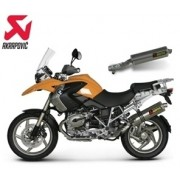 [Akrapovic] BMW R1200GS/Adventure 04~09 SLIP-ON TITAN