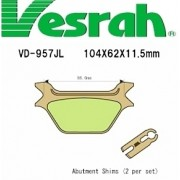 [Vesrah]베스라 VD957JL/SJL- HARLEY DAVIDSON SPORSTER,SOFTTAIL,FAT BOY,DYNA LOW RIDER,SPORT GLIDE 기타 그 외 기종 -오토바이 브레이크 패드
