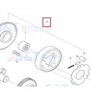 FX110(마이다스)KR110(마스타110) 스타터 클러치 ASSY (기어포함)