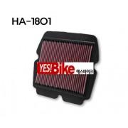 K&N(케이엔엔) Honda(혼다) GL1800(골드윙) '01~'13 Air Filter (에어크리너) HA-1801