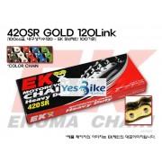 Honda(혼다) Ape50(에이프) EK(Enuma) 100cc급 일반체인(골드) 420SR_GOLD_120L