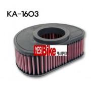 K&N KAWASAKI(가와사키) VN1600 NOMAD/CLASSIC 03~08 에어크리너 KA-1603