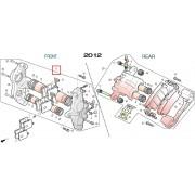 SV250(Q3) 캘리퍼 ASSY(앞) 45100-SZ2-0000