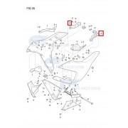 GD250(R)(엑시브250R) 언더카울 브라켓 94471HD8500