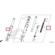PCX125(15~17) 쇼바(앞)좌측(LH) 51500-KWN-Y11 우측(RH)51400-KWN-Y11