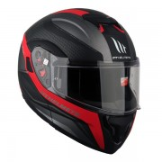 MT헬멧 ATOM(아톰) TARMAC 시스템 헬멧 맷블랙/그레이/레드- 핀락 무상 증정/선바이저 내장형