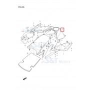 GD250N,R(엑시브250N,R) 퓨엘탱크커버(센터)(흑색)94411HC8100TBK