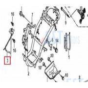 비버HY125) 커버어퍼브라켓(앞)(구형)41512CR7400