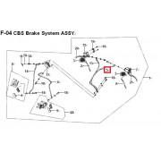 HY125(V) 브레이크 호스(뒤,A)