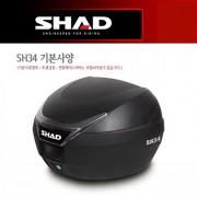 SHAD 샤드 탑케이스 SH34 기본사양무광 검정 D0B34100