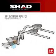 SHAD 샤드 3P SYSTEM 사이드케이스SH36/SH35/SH23 핏팅 킷 CBR500R/CB500F '13~'15 H0CF54IF