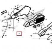 PCX(19년~) 에어클리너케이스 서브ASS`Y 17225-K97-J00