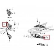 PCX(18~19) 발판 암(뒤) 필리온 RH 50730-K97-T00,LH 50740-K97-T00