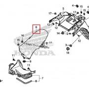 PCX(18~19) 머드가드(뒤) 80103-K97-T00