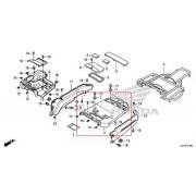 벤리110(BENLY110)(~15)짐대(뒤)커버 81300-GGM-950