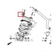 PCX125(18~19) 톱브릿지커버(앞, 순정) 53205-K97-T00