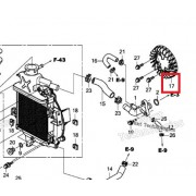 PCX125(18~19) 팬쿨링(라디에이터) 19510-K97-T00