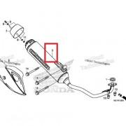PCX125(18~19) 머플러 18300-K96-V00