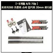 YSS 포르자 300 FORZA300(18~) 프론트 쇼바 업그레이드 키트 20mm로다운 P5405