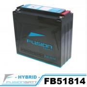 FB51814 YT19BL-BS 밀폐형 밧데리  FUSION 밧데리