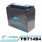 FBT14B4 YT14B-BS 밀폐형 밧데리  FUSION 밧데리