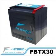 FBTX30 YTX30L-BS 밀폐형 밧데리  FUSION 밧데리