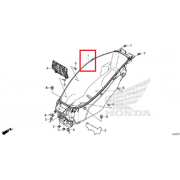 PCX125(21년~) 러게지박스 81250-K1Z-J10